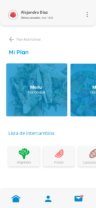 Easy nutrition App